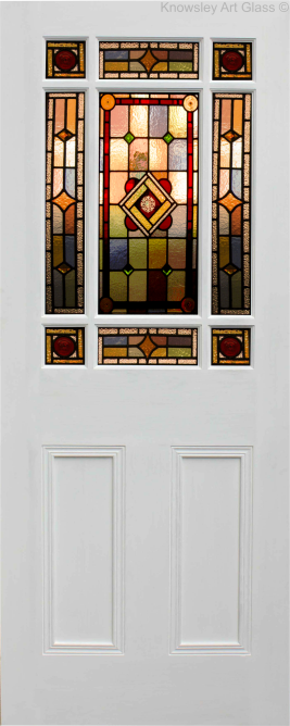 downham door leadlight