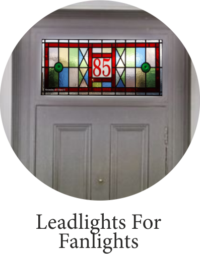 leadlight fanlight
