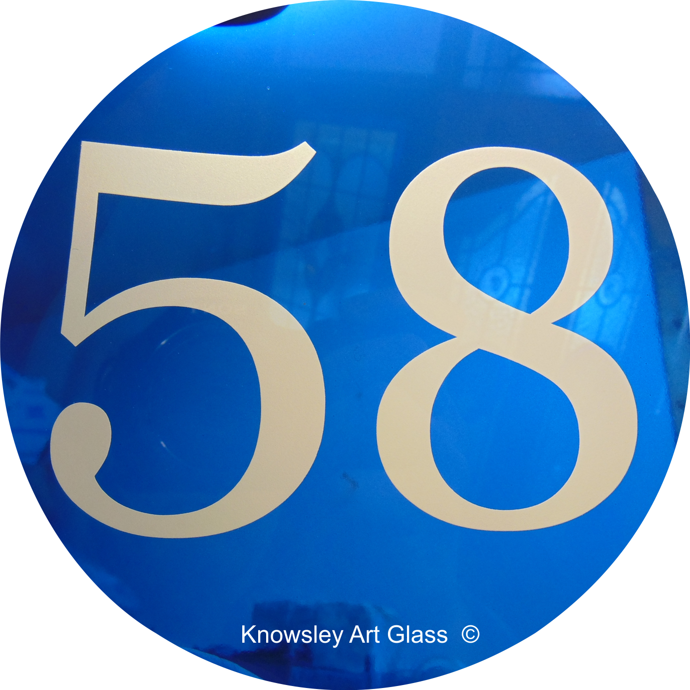 glass house number