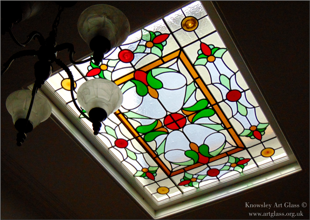 Leadlight skylight