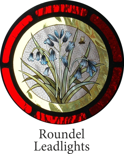 leadlight roundel