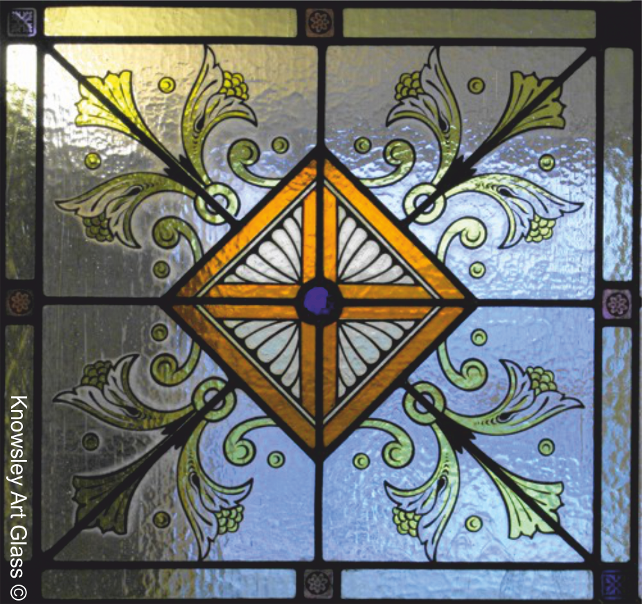 Geometric Stained Glass