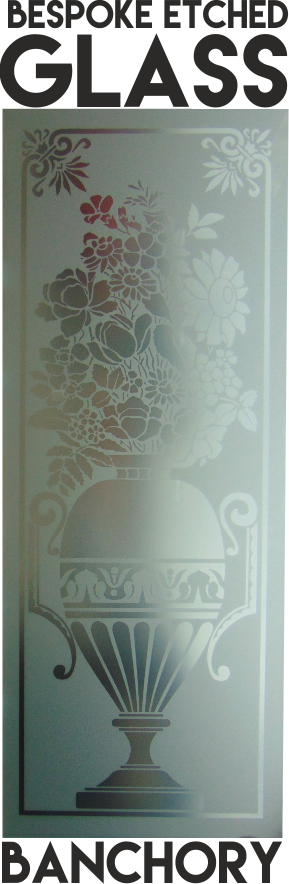 Banchory Scotland Etched Glass Aberdeen