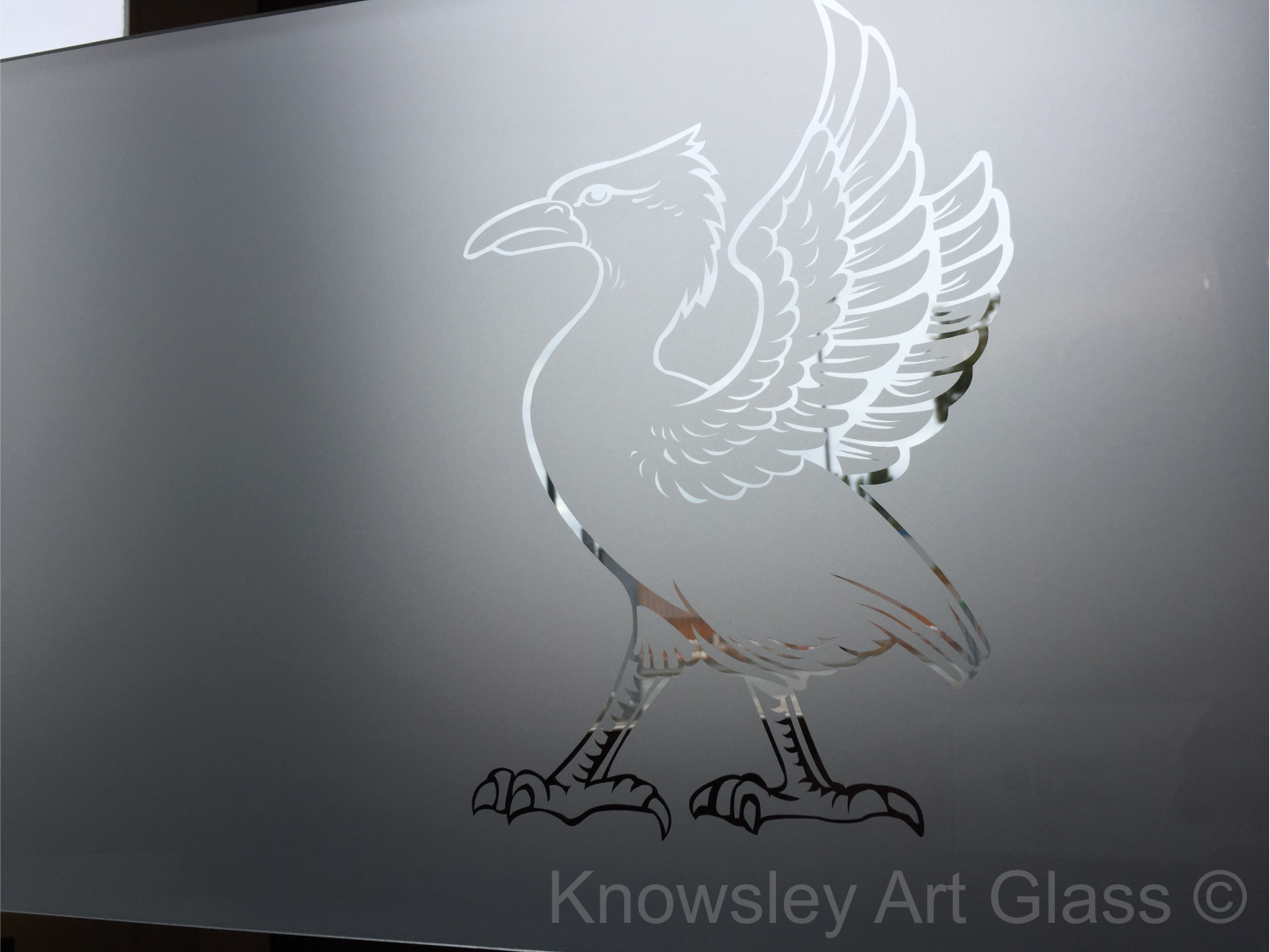 liverpool Etched Glass
