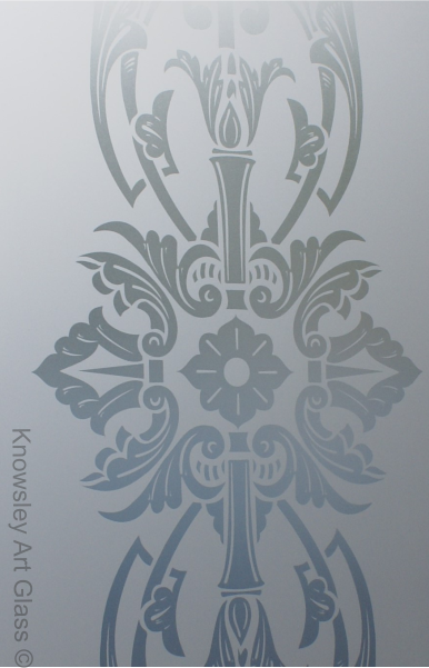 Decorative Etched Glass