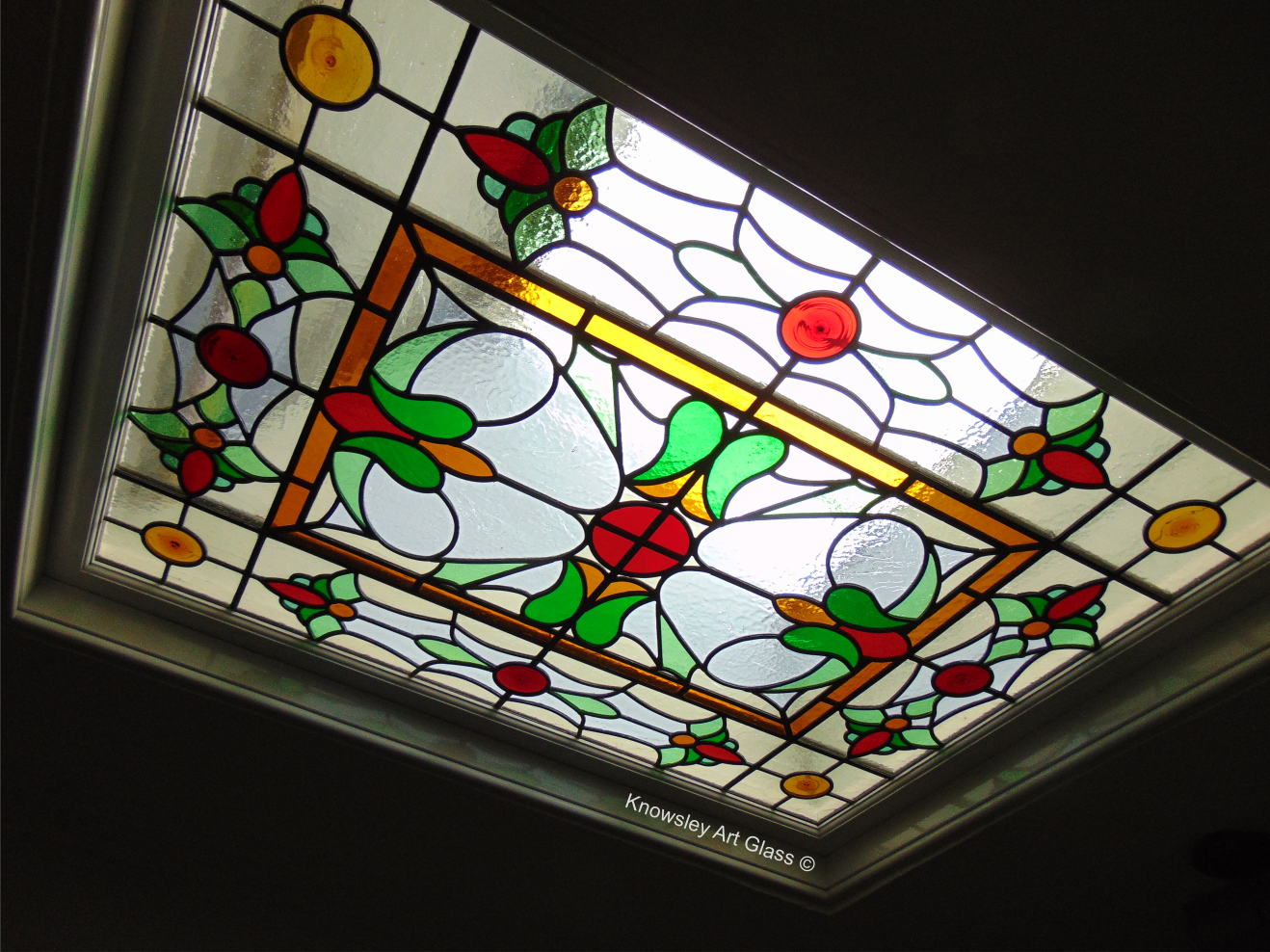 Specialise in restoring Stained glass panels